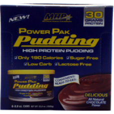 MHP: Power Pak Pudding 6 cans Chocolate